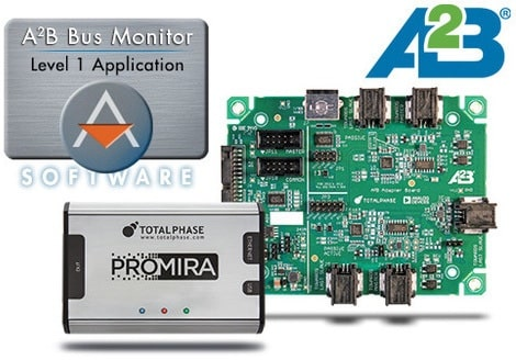 Total Phase announced A²B Bus Monitor solution